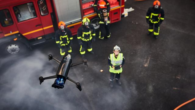 A new drone from Parrot has the potential to help. Outfitted with a thermal camera, the Bebop Pro Thermal can fly over devastated areas and feed a live image back to an app, providing up-to-date status information and identifying hot spots -- including the heat given off by a survivor's body.