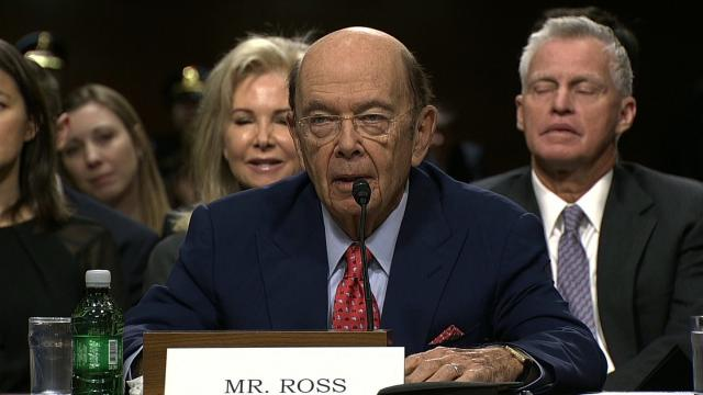 Wilbur Ross is the current Secretary of Commerce for the Trump administration.
