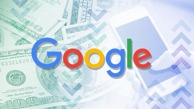 Alphabet, the parent company of Google, said Thursday that its sales hit $27.77 billion for the third quarter, a gain of 24% from the same period a year earlier. **This image is for use with this specific article only.**