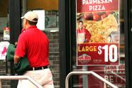 IMAGE: Papa John's says NFL protests are hurting sales