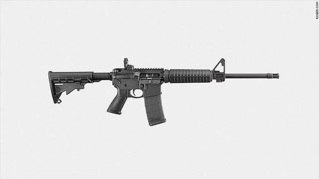 The gunman in the Texas church massacre was armed with a Ruger AR-556 -- a type of AR-15, the military-style rifle that has been used in many other recent mass shootings.