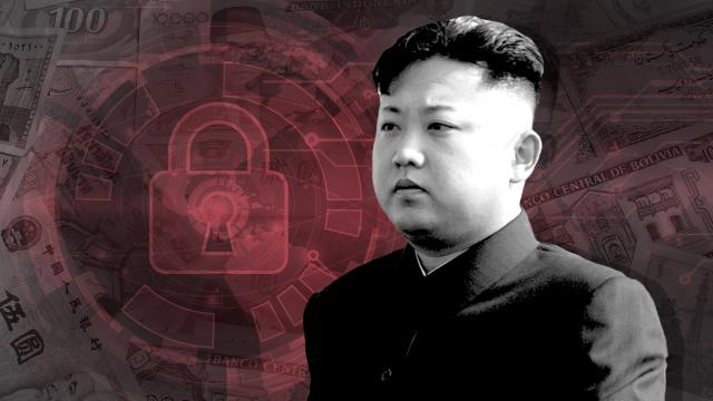 **This image is for use with this specific article only** North Korean hackers are allegedly using malware against firms across industries such as aviation, finance, telecoms and media.