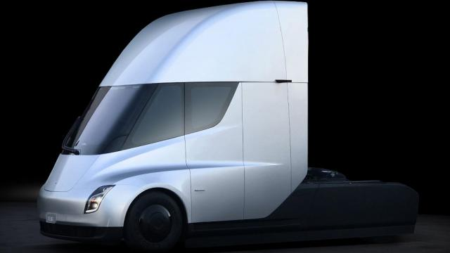 The lack of a big diesel engine allowed Tesla to make a roomier, more aerodynamic cabin.