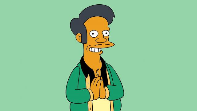 Hollywood has offered up few Asian American stars. But one of its most well-known is a cartoon: Apu from The Simpson