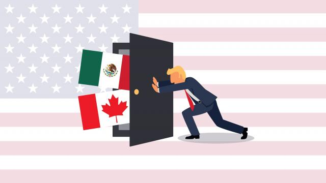 No meaningful progress is being made in NAFTA trade talks between the United States, Canada and Mexico. The odds are increasing that President Trump could withdraw from a critical 23-year old agreement.