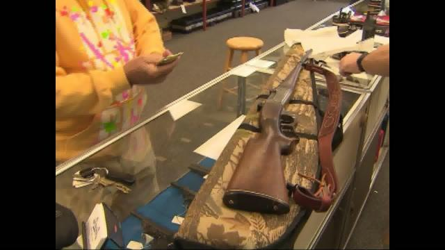 File image- Black Friday 2017 was a big day for gun sales.