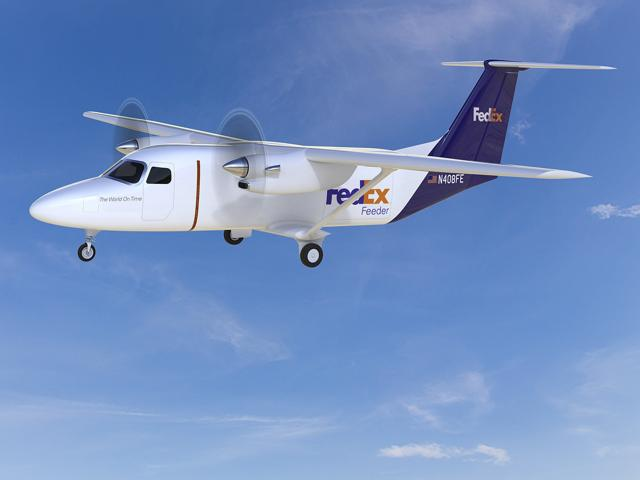 Cessna unveiled an all-new design for a small freighter and passenger aircraft, dubbed the SkyCourier. FedEx Express has agreed to buy up to 100 of them.