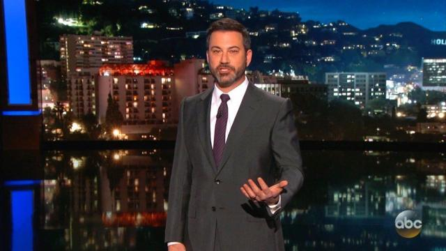 """Jimmy Kimmel, host of ABC's """"Jimmy Kimmel Live!"""", got into a Twitter spat with the Alabama Republican over a stunt that Kimmel's show had orchestrated on Wednesday at a Moore event. Kimmel had even more to say about the Twitter feud on his show Thursday, November 30, 2017 night."""