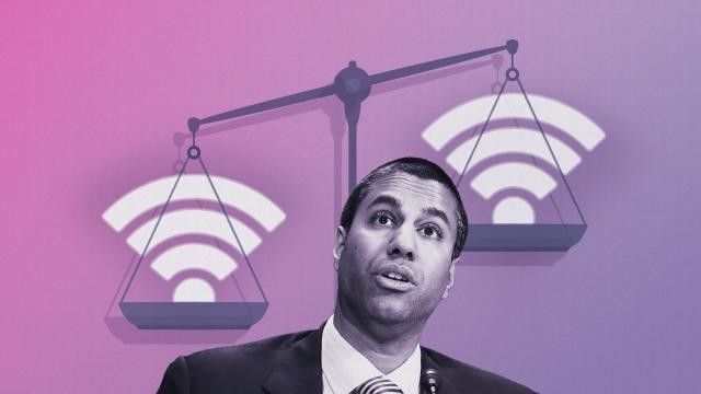 **This image is for use with this specific article only.** Ajit Pai is the current FCC chairman.