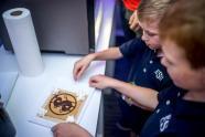 IMAGES: Randi Zuckerberg's pop-up kitchen serves up tech for kids