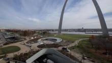 IMAGES: St. louis reconnects with the gateway arch and its pioneer spirit