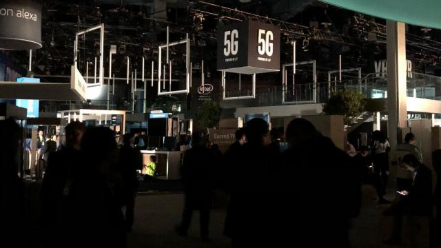 The Las Vegas Convention Center lost power on January 10 in the middle of CES 2018, the massive annual gathering of technology companies.