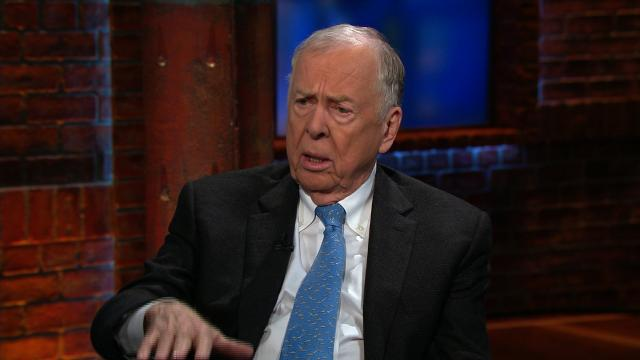 File- T. Boone Pickens, the iconic oil and natural gas investor, is getting out of the business he helped shape since the 1950s. Pickens, 89, chairman of BP Capital Fund Advisors, announced in a letter that he is shutting the commodity and energy stock hedge funds he runs.