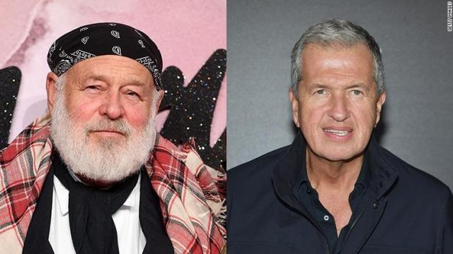**This image is for use with this specific article only.** Conde Nast is cutting ties with two famous fashion photographers, Bruce Weber and Mario Testino, after The New York Times published disturbing allegations about both men.