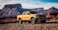 IMAGE: It's a showdown for pickup trucks