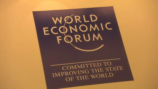 The World Economic Forum is an independent international organization based in Switzerland. (File Photo)