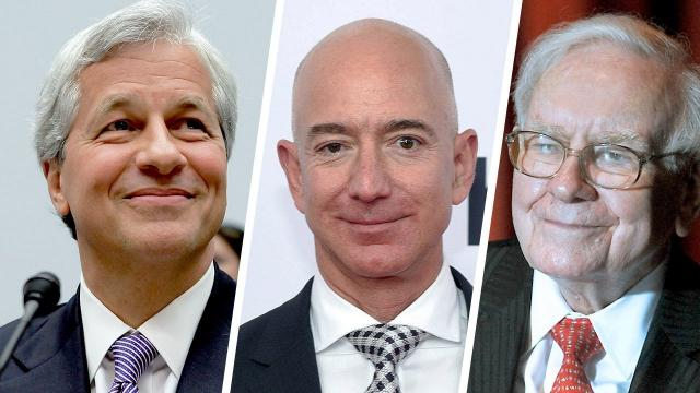 Amazon shook up the health care world on Tuesday, announcing it was partnering with fellow heavy hitters Berkshire Hathaway and JPMorgan Chase to address soaring costs.