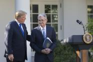 IMAGES: Powell Steps Becomes Fed Chief as Economy Starts to Show Strain