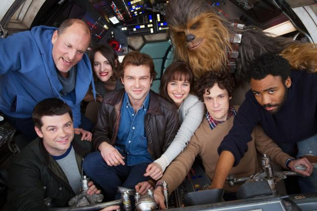 """Disney gave the world its first glimpse of """"Solo: A Star Wars Story"""" during the Super Bowl."""
