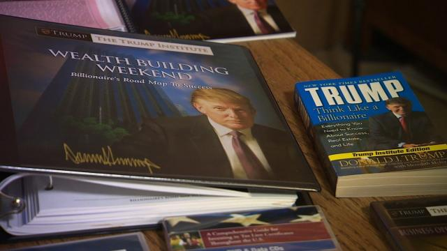 A federal appeals court approved a $25 million settlement to resolve lawsuits brought by former students of Trump University who claimed they were defrauded by the now-defunct school.