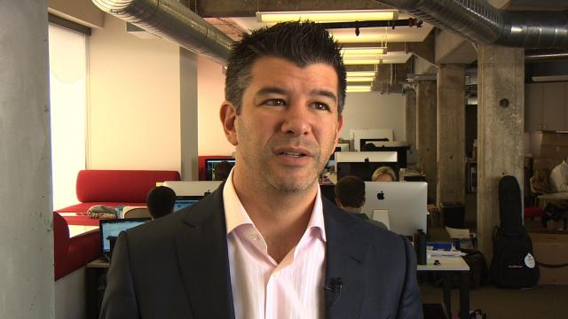 Travis Kalanick, the former CEO of Uber, testified for the first time in a bombshell trade secrets trial. FILE Photo