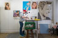 IMAGES: A Lifetime of Making Art, but New to Selling It Online