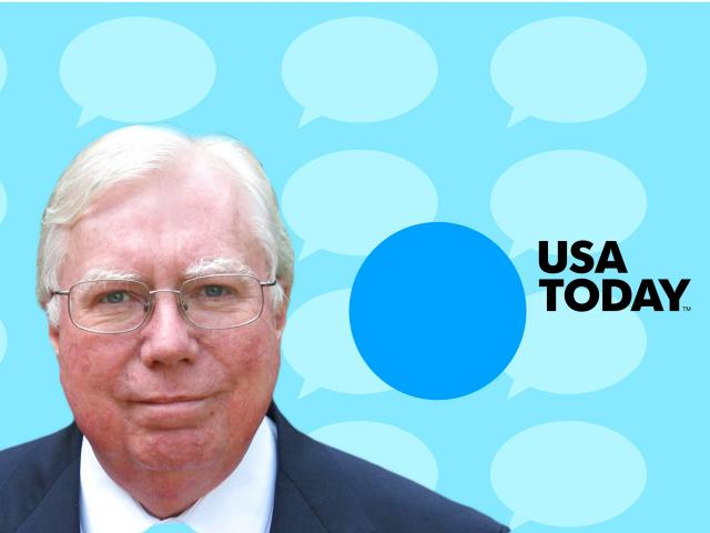 One of the nation's largest newspapers, USA Today, said on Wednesday it was comfortable publishing an op-ed written by Jerome Corsi, a prominent conspiracy theorist who serves as the DC bureau chief for the fringe outlet InfoWars.