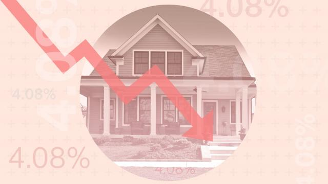 House Market/ Values Low or Rates Low graphic