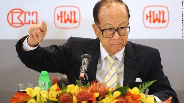 Legendary business tycoon Li Ka-shing is retiring.
