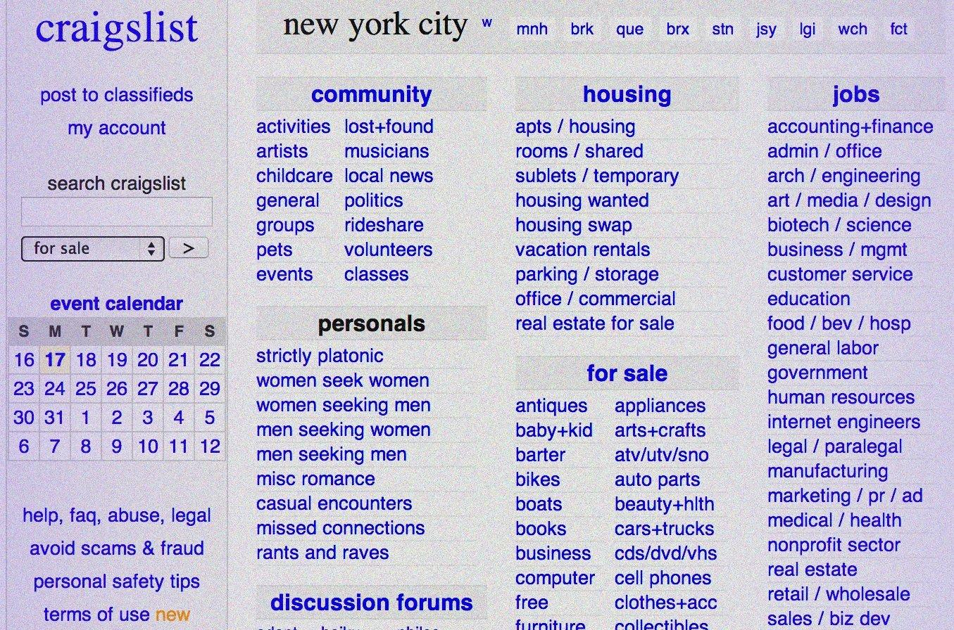 Craigslist shuts down its personals section :: WRAL com