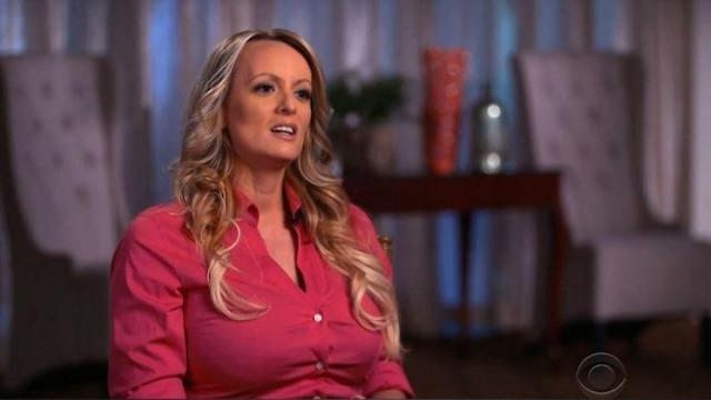 Stormy Daniels appeared on CBS' 60 Minutes to discuss her alleged affair with President Donald Trump.