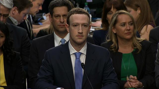 Mark Zuckerberg, the Facebook CEO is testifying for the first time before Congress, starting with an appearance Tuesday afternoon at a joint hearing of the Senate Judiciary and Commerce committees.