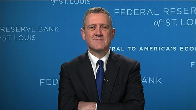 James Bullard, President of the Federal Reserve Bank of St. Louis spoke to CNN's Richard Quest on Wednesday and cautioned on future federal rate increases.