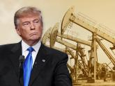 IMAGE: Surging oil prices rattle President Trump