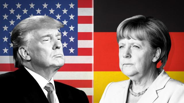 German Chancellor Angela Merkel is making one final attempt to convince President Donald Trump to exempt the European Union from new US tariffs.