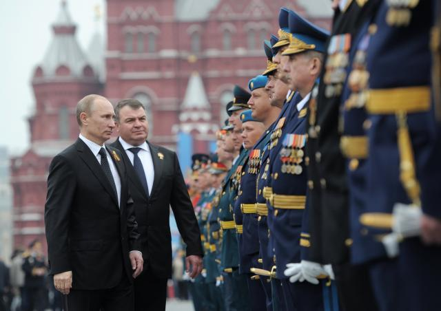 A weak economy has caused Russian military spending to plunge.