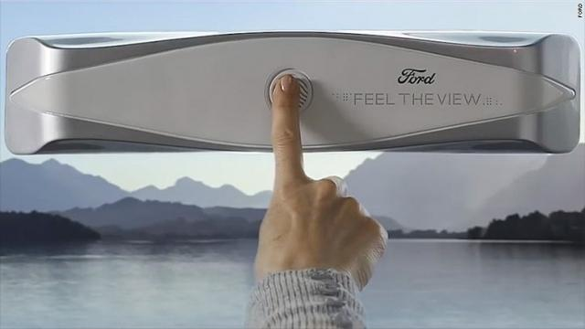 Ford thinks it has its hands on an idea to help the visually impaired see the view outside.