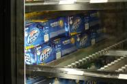 IMAGE: Molson Coors tanks on weak US beer sales