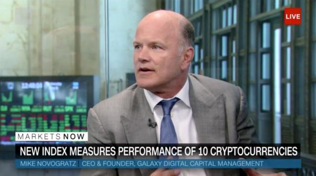 Bitcoin bull Michael Novogratz thinks every investor should buy cryptocurrencies.