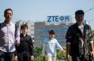 IMAGE: ZTE is now center stage in the US-China trade fight