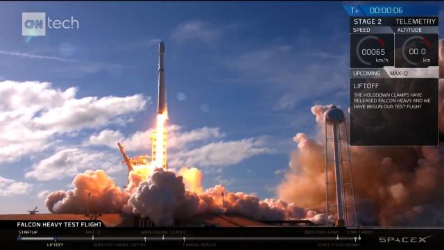 FILE: SpaceX successfully launched another rocket off the coast of California.