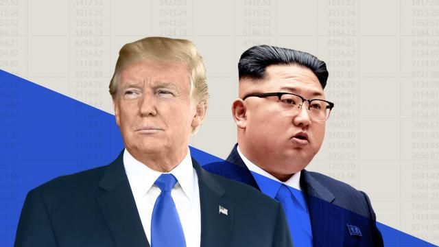 President Trump's decision to cancel an historic summit with North Korea rattled Wall Street. The Dow lost 250 points, or about 1%, on Thursday after the White House scrapped the June 12 meeting in Singapore. The S&P 500 and Nasdaq fell nearly 1% apiece.