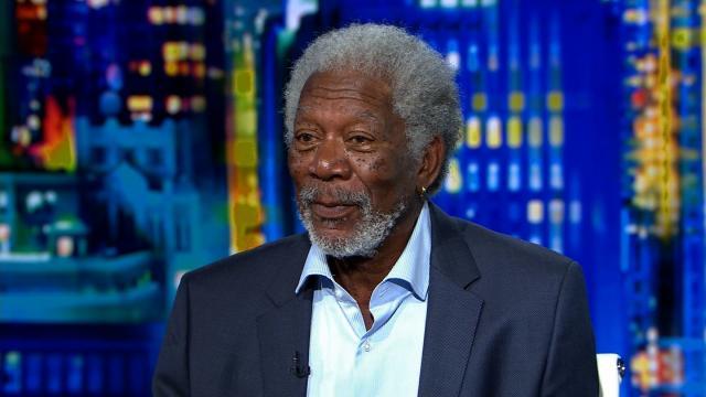 Actor Morgan Freeman is seen here speaking to CNN in 2015. (File Photo)