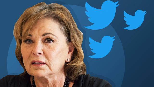 "For 24 hours after ABC's decisive stamping of ""THE END"" on her briefly glorious comeback story, Roseanne Barr flailed her way on Twitter through a range of excuses and explanations for the comments that led to her show's termination."