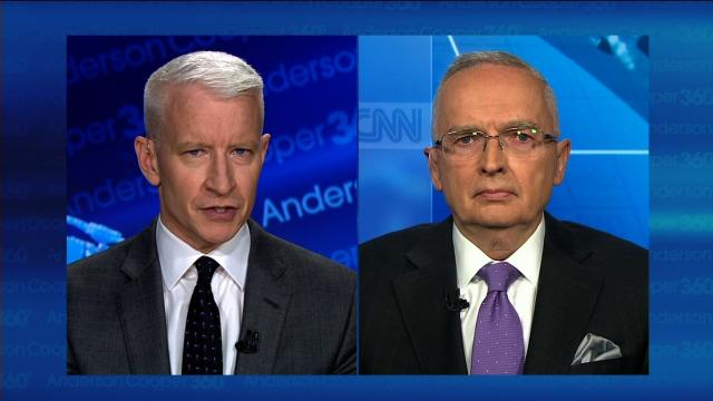 "Ralph Peters left the network in March after sending a blistering farewell note to some of his colleagues. The note shocked the TV news industry because he accused Fox of ""assaulting our constitutional order and the rule of law."""