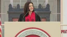 IMAGE: Sheryl Sandberg tells MIT grads about 'painful' Facebook lessons