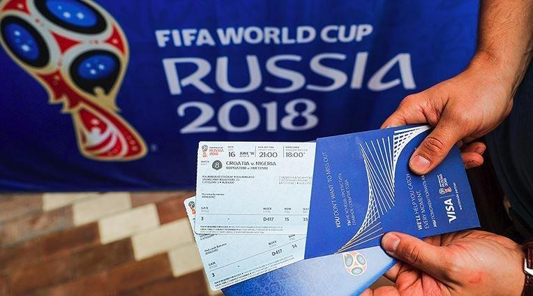 Soccer buffs can buy tickets for the tournament on FIFA's website, via an application process that began last September.