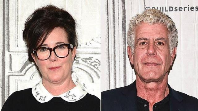 Kate Spade and Anthony Bourdain died by suicide within days apart.