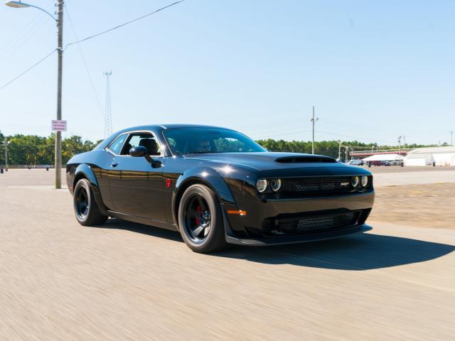 The 840 horsepower Dodge Challenger Demon