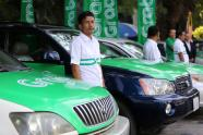 IMAGE: Toyota makes record $1 billion investment in ride-hailing firm Grab